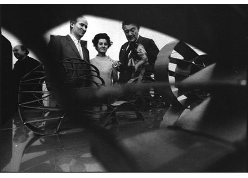 """Mostra """"Consagra - Città Frontale e Sottilissime"""", Galleria dell'Ariete, Milano, 18 marzo 1969.Foto Ugo Mulas © Ugo Mulas Heirs. All rights reserved"""