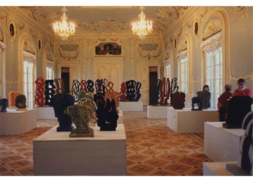 "Mostra ""Pietro Consagra"", Museo Ermitage, San Pietroburgo, 14 novembre-15 dicembre 1992."