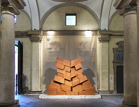 "Muraglia ""Cangrande"" di Pietro Consagra, inauguration of the permanent installation"