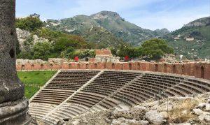 Pietro Consagra. Il colore come materia, Taormina, Teatro Antico, 2021
